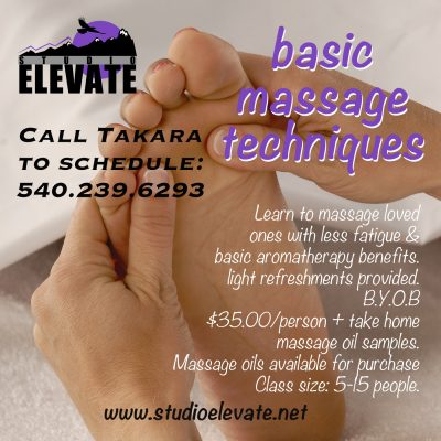 Basic Massage + Aromatherapy